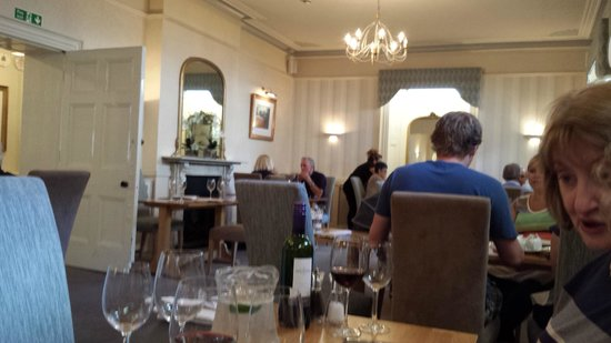 Allt Yr Afon at The Wolfscastle Country Hotel: The older dining room at Wolfscastle Country Hotel