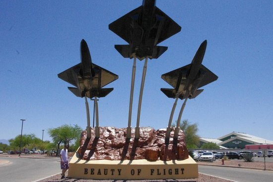 Pima Air & Space Museum: entrance