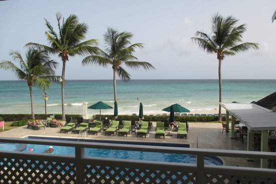 Sea Breeze Beach Hotel: view from hotel room