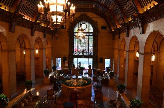 Millennium Biltmore Hotel Los Angeles: ZONA PRÓXIMA AL DESAYUNADOR