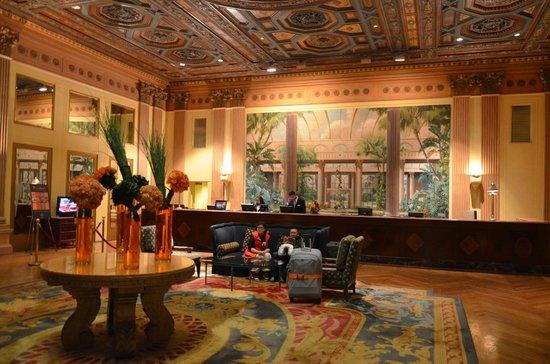 Millennium Biltmore Hotel Los Angeles: RECEPCIÓN