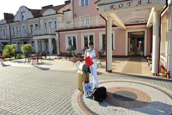 вход в Hotel Arkadia Royal
