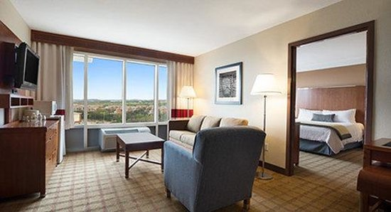 Living Room Suite Picture of Wyndham Garden San Antonio near La