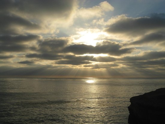 Sunset Cliffs Natural Park: Sunset at the Cliffs