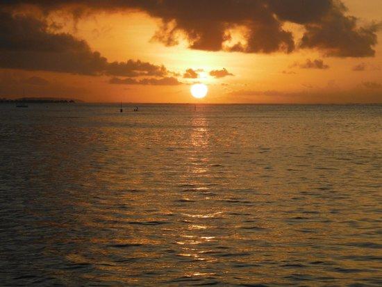 Manava Beach Resort & Spa - Moorea : Vue du balcon