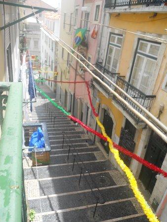 Bairro Alto : il tram per salire al barrio alto