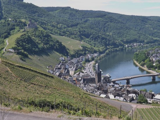 Marchenhotel : Bernkastel view from the hill