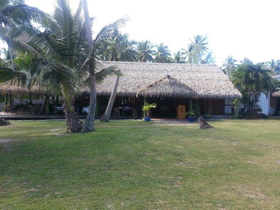 Tamanu Beach Resort: Restauranten