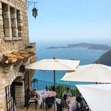 Chateau Eza: Hands down best place to eat and enjoy the view!