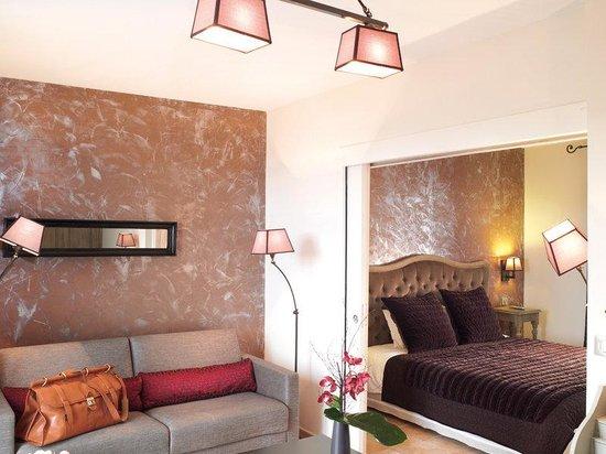 Hotel de la Fossette : Deluxe Seaview Suite
