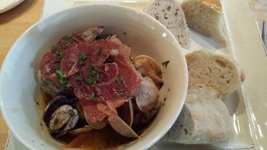 229 Parks Restaurant and Tavern: Razor clams with prosciuto