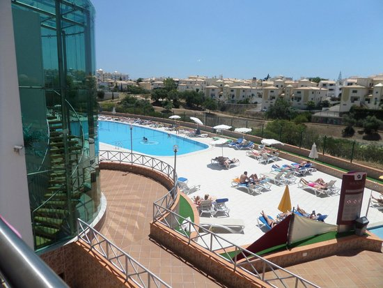 Solaqua Apartments : Great pool view from the room
