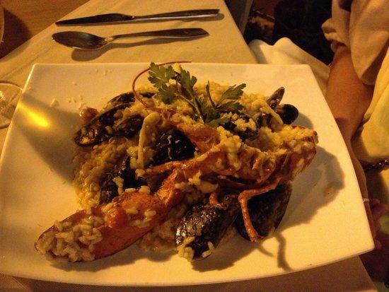 Osteria Del Porto: Risotto del Pescatore...ancora ho le lacrime !!!