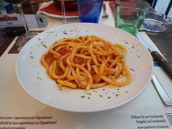 Trattoria da Garibardi : Pici all'aglione