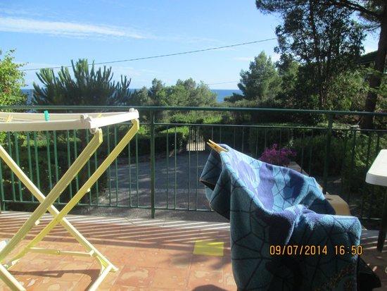 Residence Itelba: Vista dal balcone