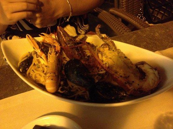 Osteria Del Porto: Spaghetti del Porto.... Senza parole !!