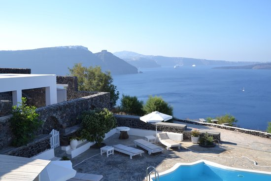 Hotel Atlantida Villas: vista meravigliosa