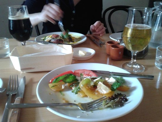 Blackfriars Restaurant: Heirloom Tomatoes and Goat Curd