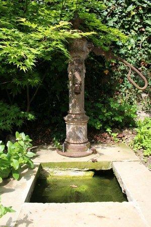 Un petit ange au milieu de l 39 eau picture of le jardin d for Jardin d eden
