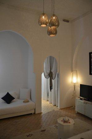 Riad Nashira & Spa: chambre