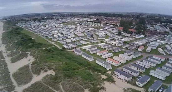 Caister-on-Sea Holiday Park - Haven: Caister camp from the air