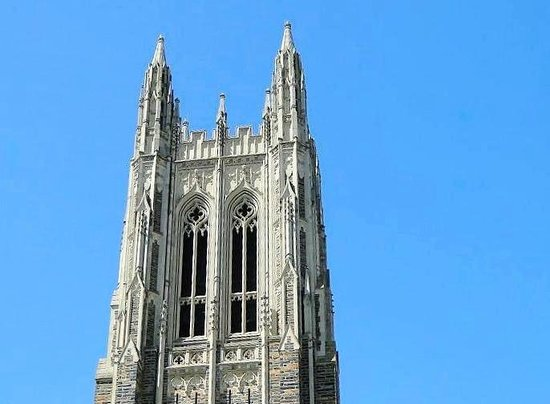 Duke University Chapel: bell tower
