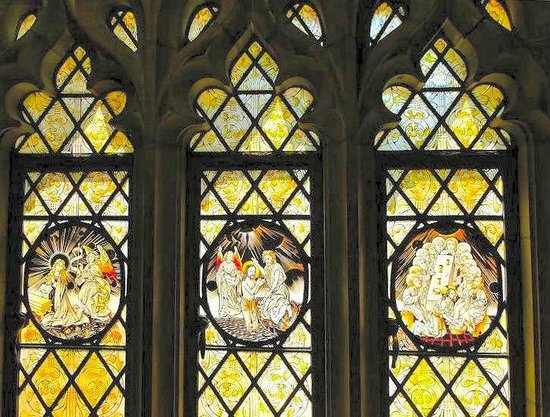 Duke University Chapel: a beautiful window