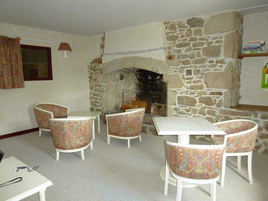 Manoir de la Salle : Guest lounge