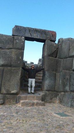 Sacsayhuamán: Portal de ingreso