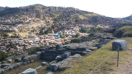 Sacsayhuamán: Cusco desde Sacsayhuaman