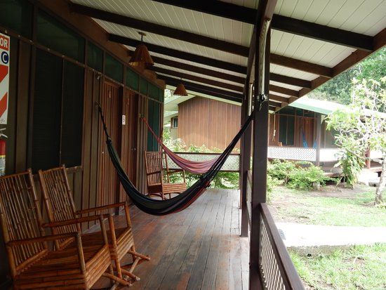 Mawamba Lodge: Relaxing at the cabin