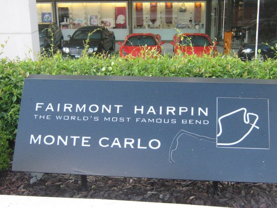Fairmont Monte Carlo: outside the hotel