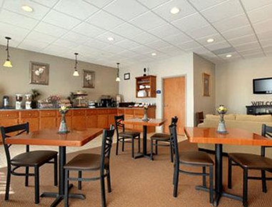 Howard Johnson Inn Augusta-Fort Gordon: Breakfast Area