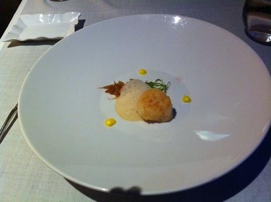 Submarino Restaurant : plato menu desgustacion