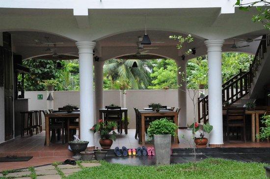 Unawatuna Nor Lanka Hotel : Ресторан