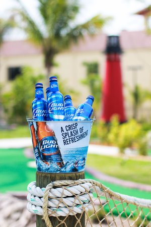 Lighthouse Cove Adventure Golf: Beer Buckets, Buy 4 get the 5th FREE