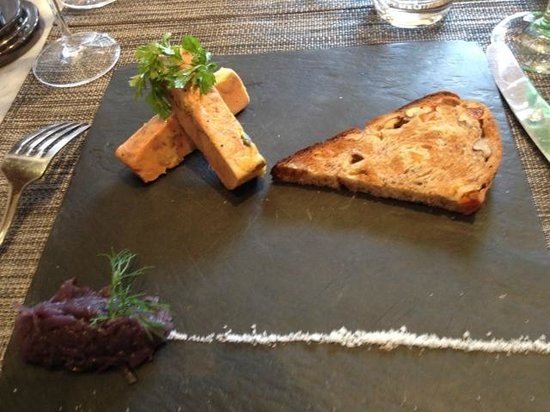 La Table Kobus: Best foie gras I've ever tested
