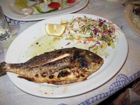 Hotel Matina: Galini Fish Taverna, Kamari