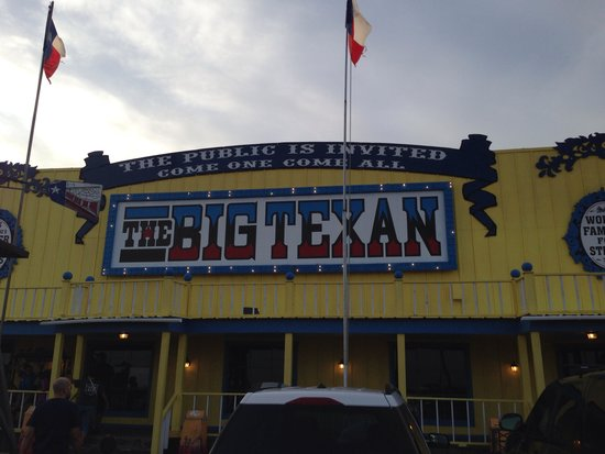 Big Texan Steak Ranch : Not a good place to eat! Take pics and eat some where else.