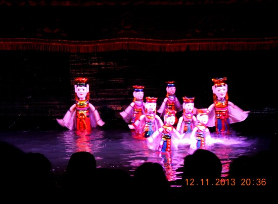 Thang Long Water Puppet Theater: A performance in the Thang Long Water Puppet Theatre