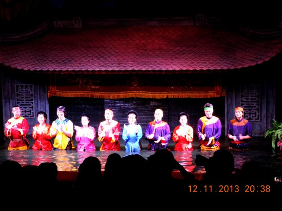 Thang Long Water Puppet Theater: Artists at Thang Long Water Puppet Theatre