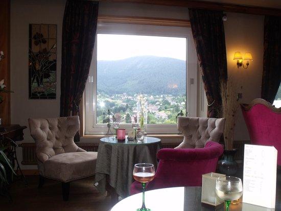 Parc Hotel Wangenbourg: Salon avec panorama