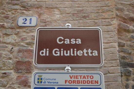 Casa di Giulietta: Casa de Julieta
