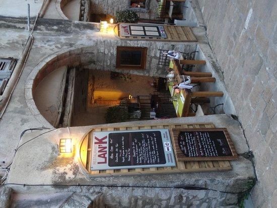 Bonifacio Citadel: petite rue
