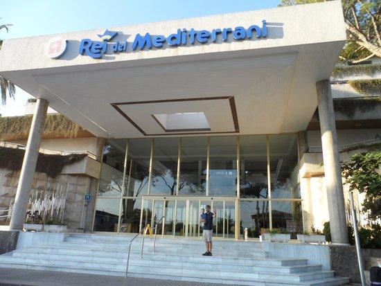 Rei del Mediterrani Palace: Hotel Entrance