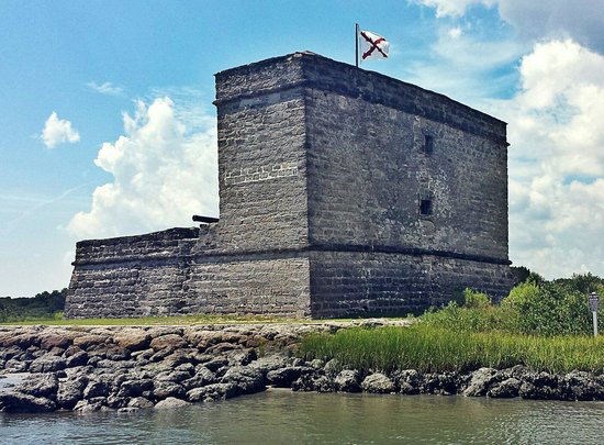 Fort Matanzas National Monument: This is a picture of the fort taken while on the ferry.