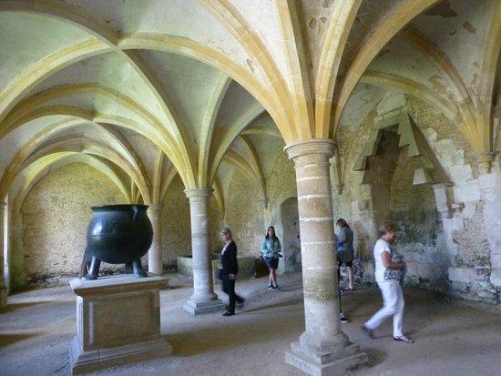 Lacock Abbey: crypt