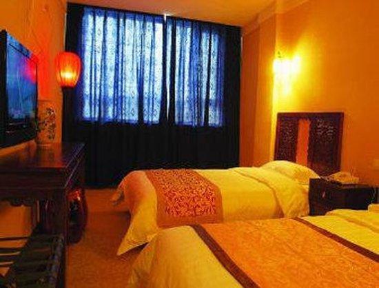 Super 8 Hotel Beijing Tian He Sheng Yu Quan Road: Two Twin Bed Guest Room