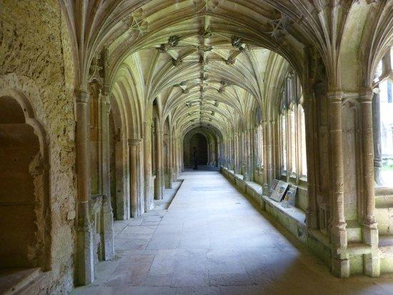 Lacock Abbey: cloisters