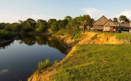 Amazonia Expeditions' Tahuayo Lodge: El Chino at sunset.
